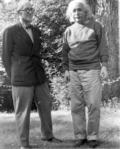 Le Corbusier with Einstein