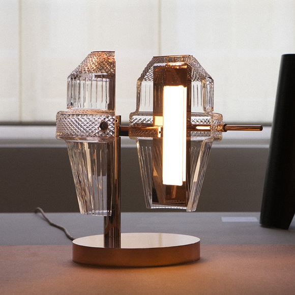 "Courtesy of: www.sleekdesign.fr ""Matrice Lamp collection"" for Saint-Louis  by Kiki van Eijk"