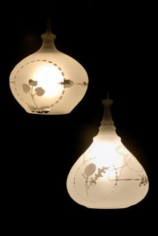 "Courtesy of: www.archello.com ""Bottled Stories Lamp"" by Kiki van Eijk"