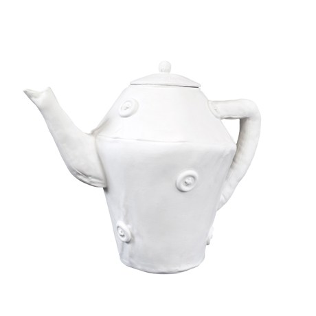 "Courtesy of: www.corunum-ceramics.nl ""Soft Tea Pot for Cor UnumQ by Kiki van Eijk"