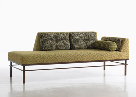 "Courtesy of www.dezeen.com ""Workshop"" Chaise Longue for Bernhardt Design by Kiki Van Eijk and Joost van Bleiswijk"