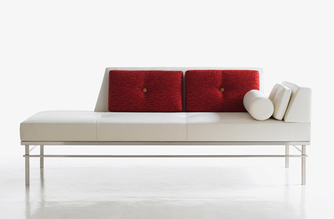 "Courtesy of: www.dezeen.com ""Workshop"" Chaise Longue for Bernhardt Design by Kiki Van Eijk and Joost van Bleiswijk"