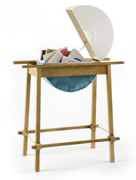 "Courtesy of: www.dezeen.com ""Cut and Paste Machine Box"" by Kiki van Eijk"