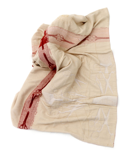 "Courtesy of: www.dezeen.com ""Domestic Jewels: Blanket"" for the project ""RE-Collocations"", 2008  by Kiki van Eijk"