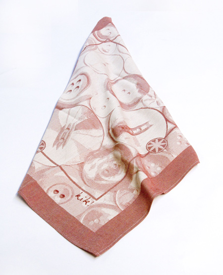 "Courtesy of: www.dezeen.com ""Domestic Jewels: Button Towels"" for the project ""Re-Collocations"", 2008  by Kiki van Eijk"