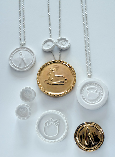 "Courtesy of: www.dezeen.com ""Stamped and Sealed: Jewels"" for the project ""Re-Collocations"", 2008 by Kiki van Eijk"