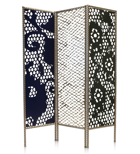 "Courtesy of: www.dezeen.com ""Textile Sketcht"" Room Divider""by Kiki van Eijk"