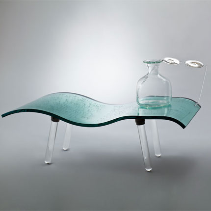 "Courtesy of: www.dilmos.com ""Glass Skin: Think!"" for Venice project by Kiki van Eijk"