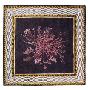 "Courtesy of: www.nodus.it ""Savage Flowers: Memories rug"" by Kiki van Eijk"