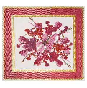 "Courtesy of: www.nodus.it ""Savage Flowers: Red Harmony rug""  for Nodus by Kiki van Eijk"