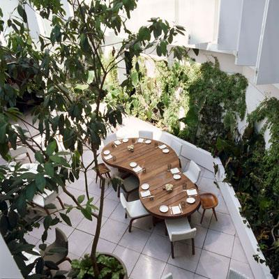 "Courtesy of: www.basenow.net ""Hotel Condesa DF"", Mexico City, 2004, interior design by India Mahdavi"
