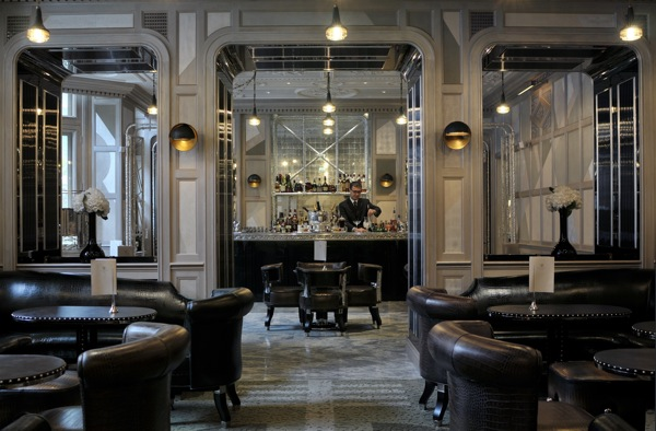 "Courtesy of: www.bonvivant.co.uk ""Coburg Bar of ""Connaught Hotel"", London, interior design by India Mahdavi.jpg"