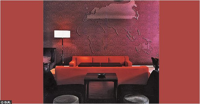 Courtesy of: www.cotemaisno.fr interior design by India Mahdavi