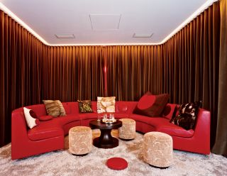 "Courtesy of: www.designlife.architecturaldigest.com ""Private residence"", New York, 2003, interior design by India Mahdavi"