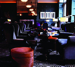 "Courtesy of: www.fivestaralliance.com ""Coburg Bar"" of ""Connaught Hotel"", London interior design by India Mahdavi"