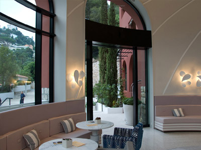 "Courtesy of: www.floornature.it ""Monte Carlo Beach Hotel"", Monaco, interior design by India Mahdavi"