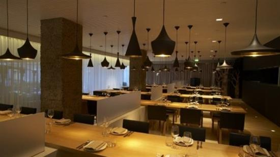"Courtesy of: www.fluidlondon.co.uk ""Restaurant Suka"" at ""Sanderson Hotel"", London, interior design by India Mahdavi"