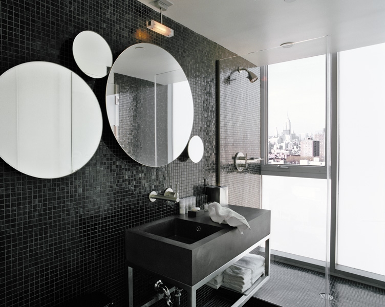 "Courtesy of: www.india-mahdavi.com ""Hotel On Rivington"", Manhattan, New York, 2005, interior design by India Mahdavi"