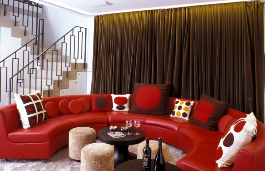"Courtesy of: www.india-mahdavi.com ""Private residence"", New York, 2003, interior design by India Mahdavi"