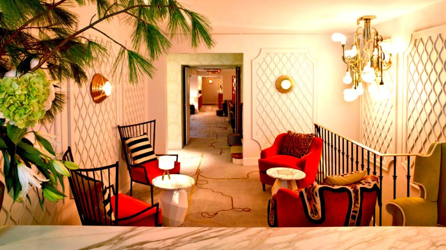 "Courtesy of: www.loveisspeed.blogspot.it ""Maison Thoumieux"", Paris, 2011, interior design by India Mahdavi"