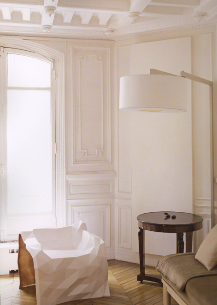 "Courtesy of: www.uniformdesign.us ""Paris apartment"", interior design by India Mahdavi"