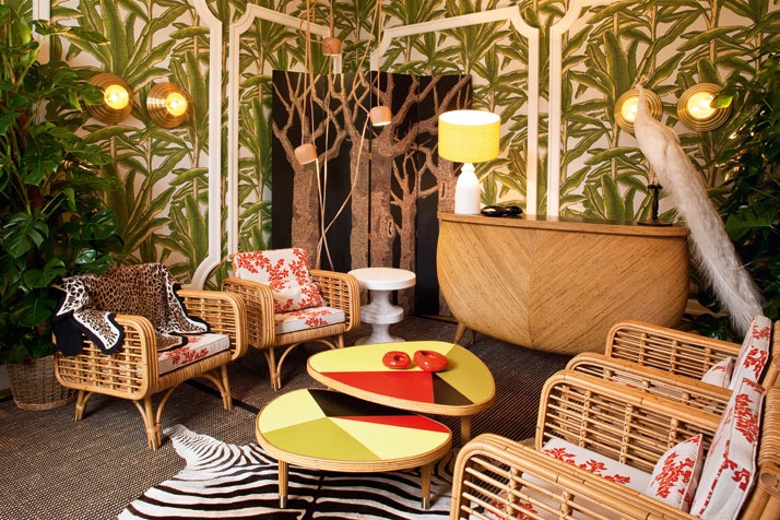 Courtesy of: www.yatzer.com interior design by India Mahdavi