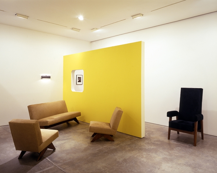 "Courtesy of: www.india-mahdavi.com Exhibition at ""Galerie Patrick Seguin"", Paris, set design by India Mahdavi"