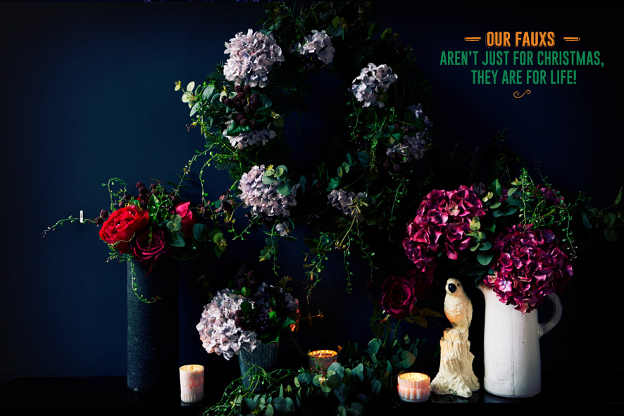 """Courtesy of www.abigailahern.com """"Faux Flowers Collection"""" by Abigail Ahern"""