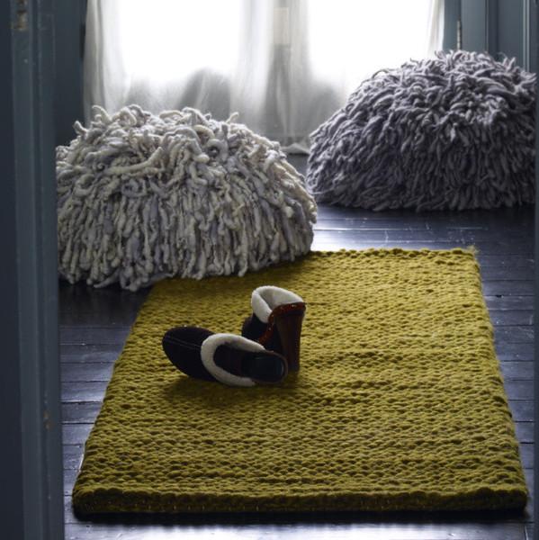 "Courtesy of: www.abigailahern.com ""Resta Floor Cushion"" Abigail Ahern's home"
