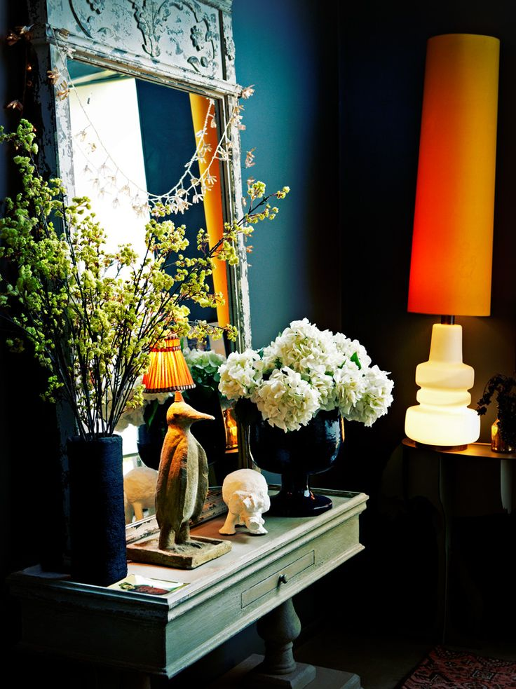 """Courtesy of: www.decordemon.blogspot.com Image from """"Decorating with style"""" by Abigail Ahern"""