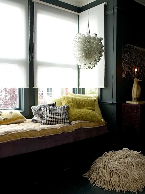 Courtesy of: www.designsponge.com Gemma Ahern apartment, interior design by Abigail Ahern