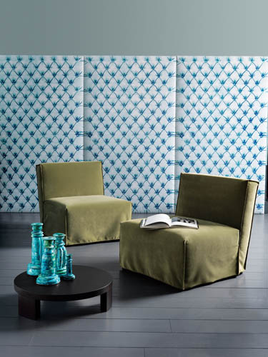 "Courtesy of: www.digsdigs.com ""Sommier-Wall decor panels"" for Casamilano, 2010 by Paola Navone"