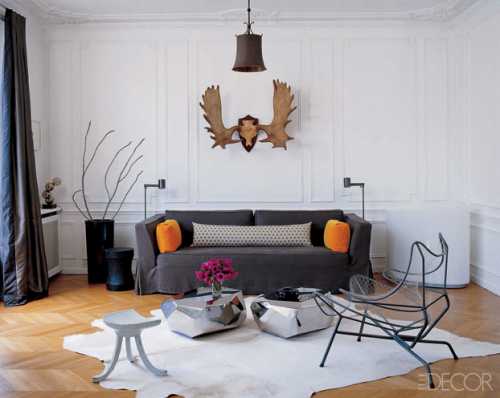 "Courtesy of: www.metainteriors.com ""Pied-à-terre, Paris"" by Steven Volpe"
