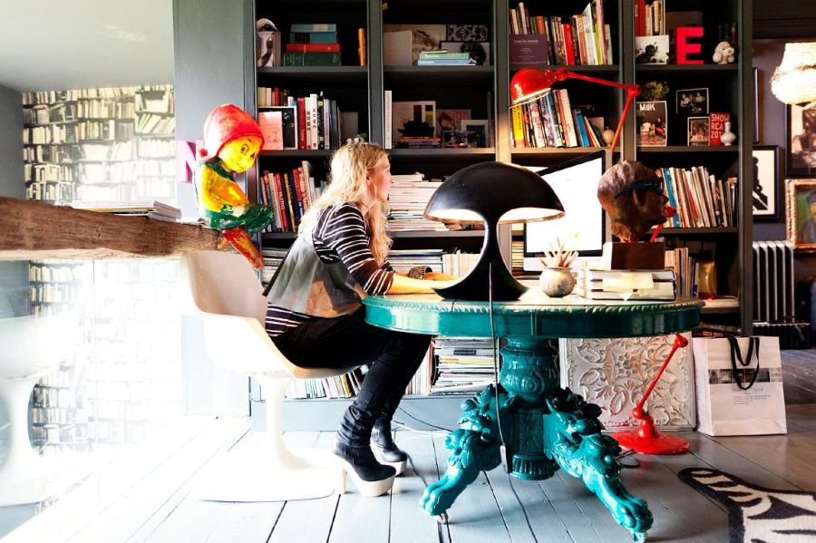 Courtesy of: www.mixandchic.com Abigail Ahern's home office