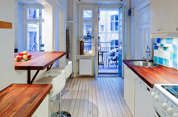 "Courtesy of: www.trendir.com ""Small apartment design"", Sweden"