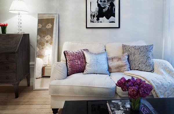"""Courtesy of: www.trendir.com """"Small apartment design"""", Sweden"""